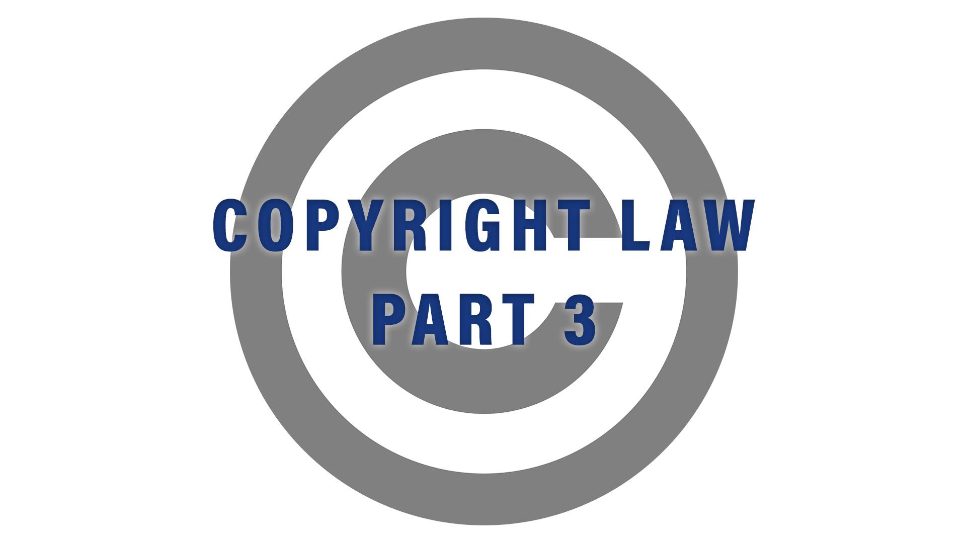 copyright law on Amazon