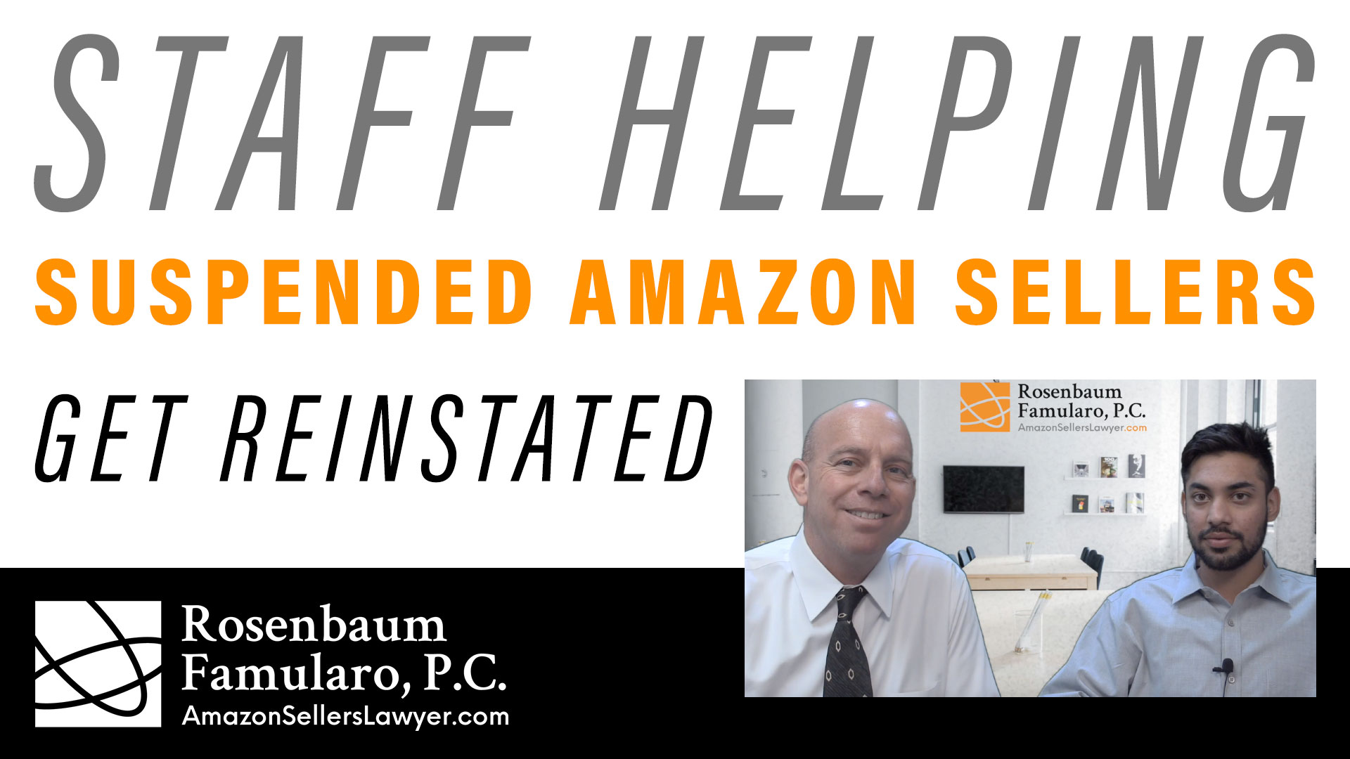 helping Amazon sellers get reinstated