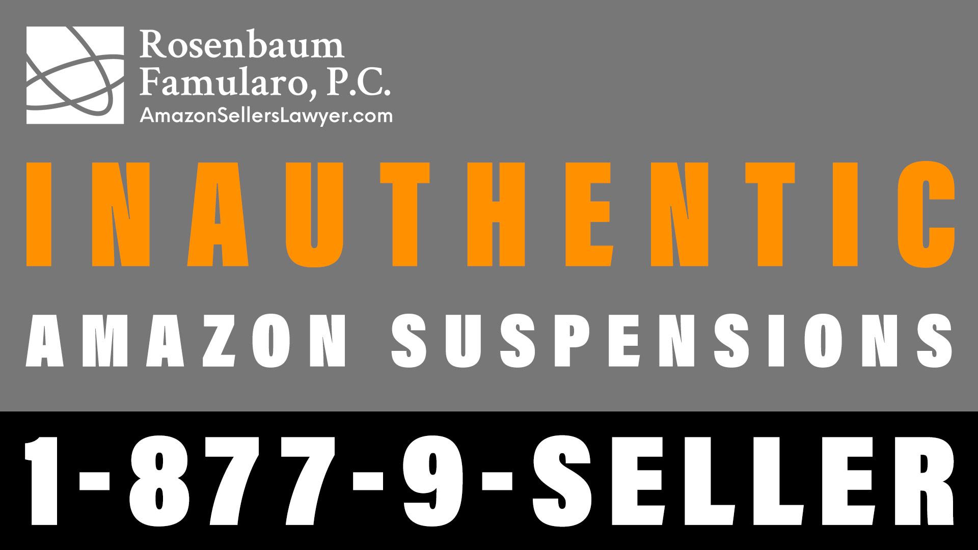 Inauthentic claim on Amazon