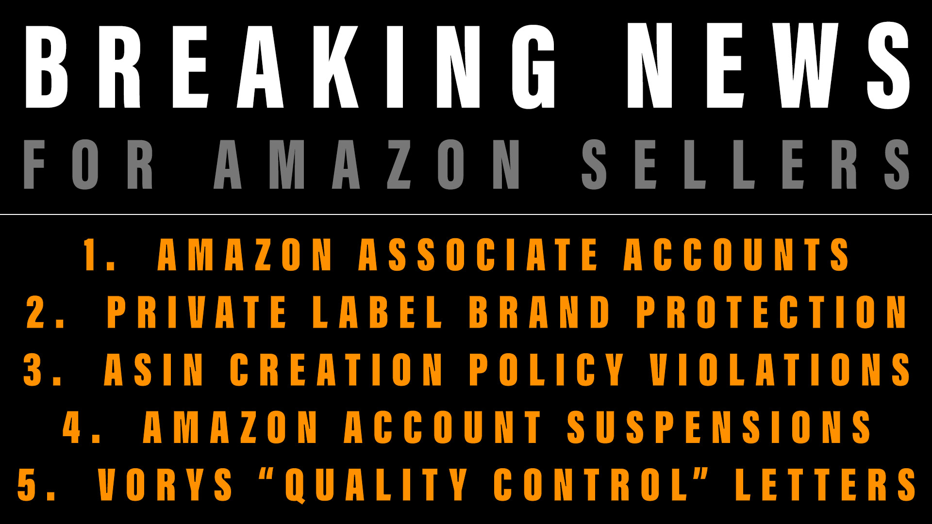 Amazon Sellers' Lawyer Breaking News June 21, 2019