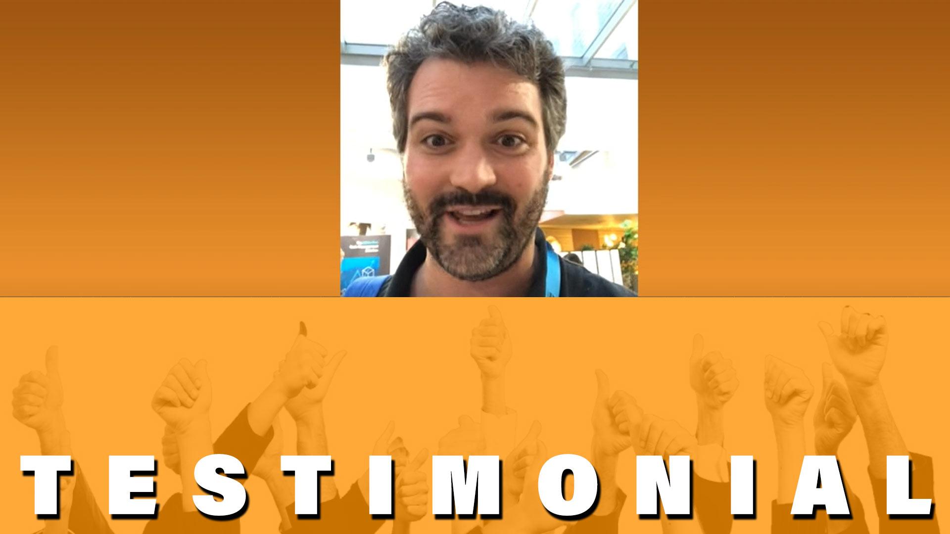testimonials for CJ Rosenbaum