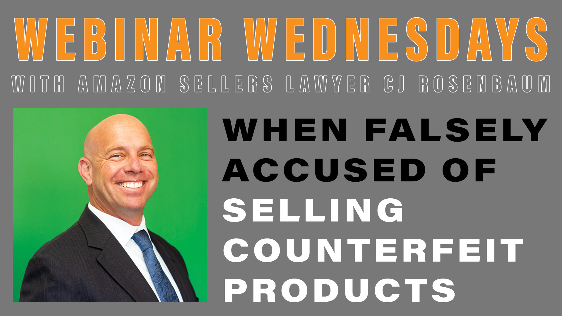 Important Sellers' Rights When Falsely Accused of Selling Counterfeits