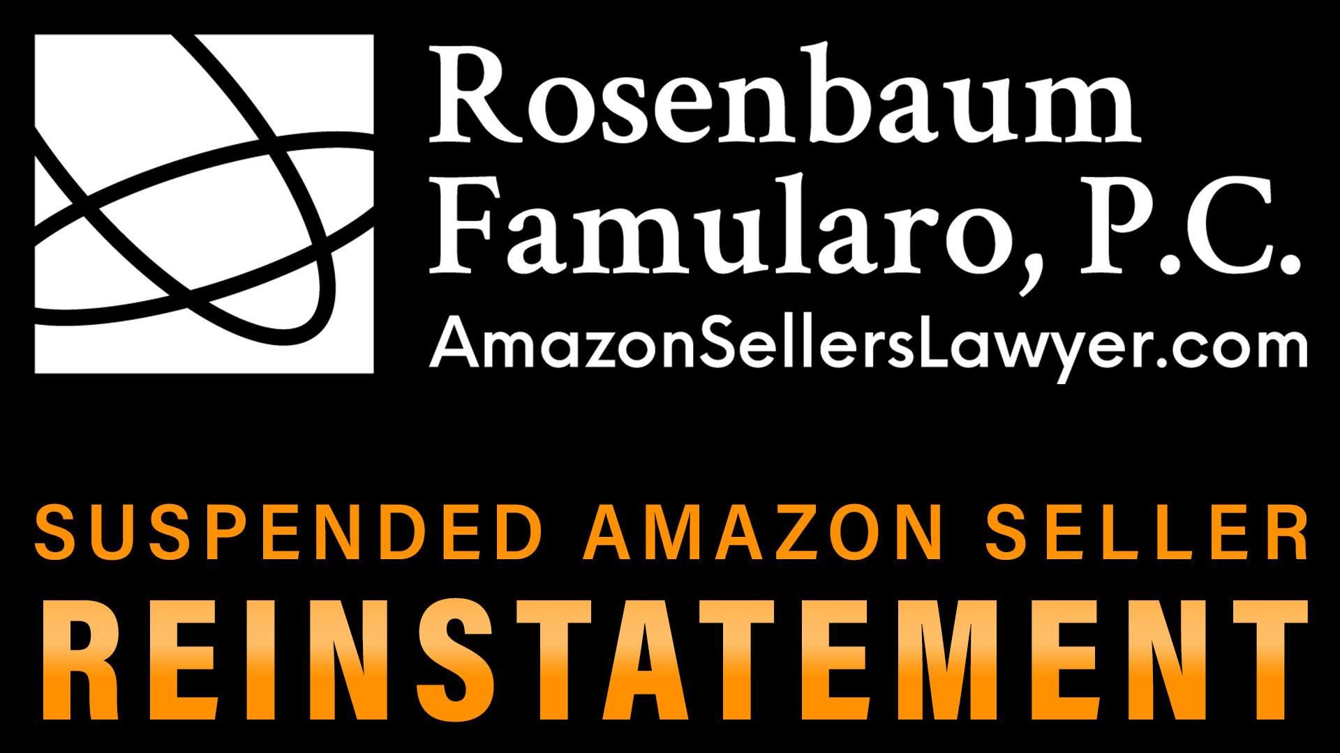 suspended Amazon seller reinstatement