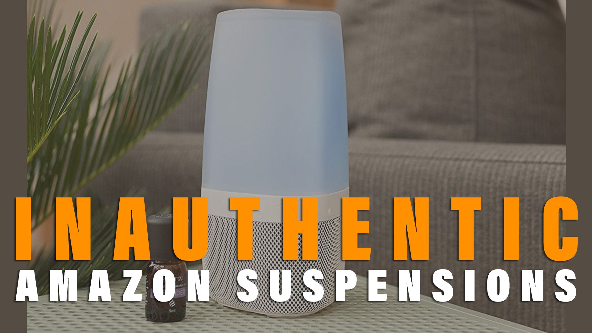 Inauthentic Suspension on Amazon