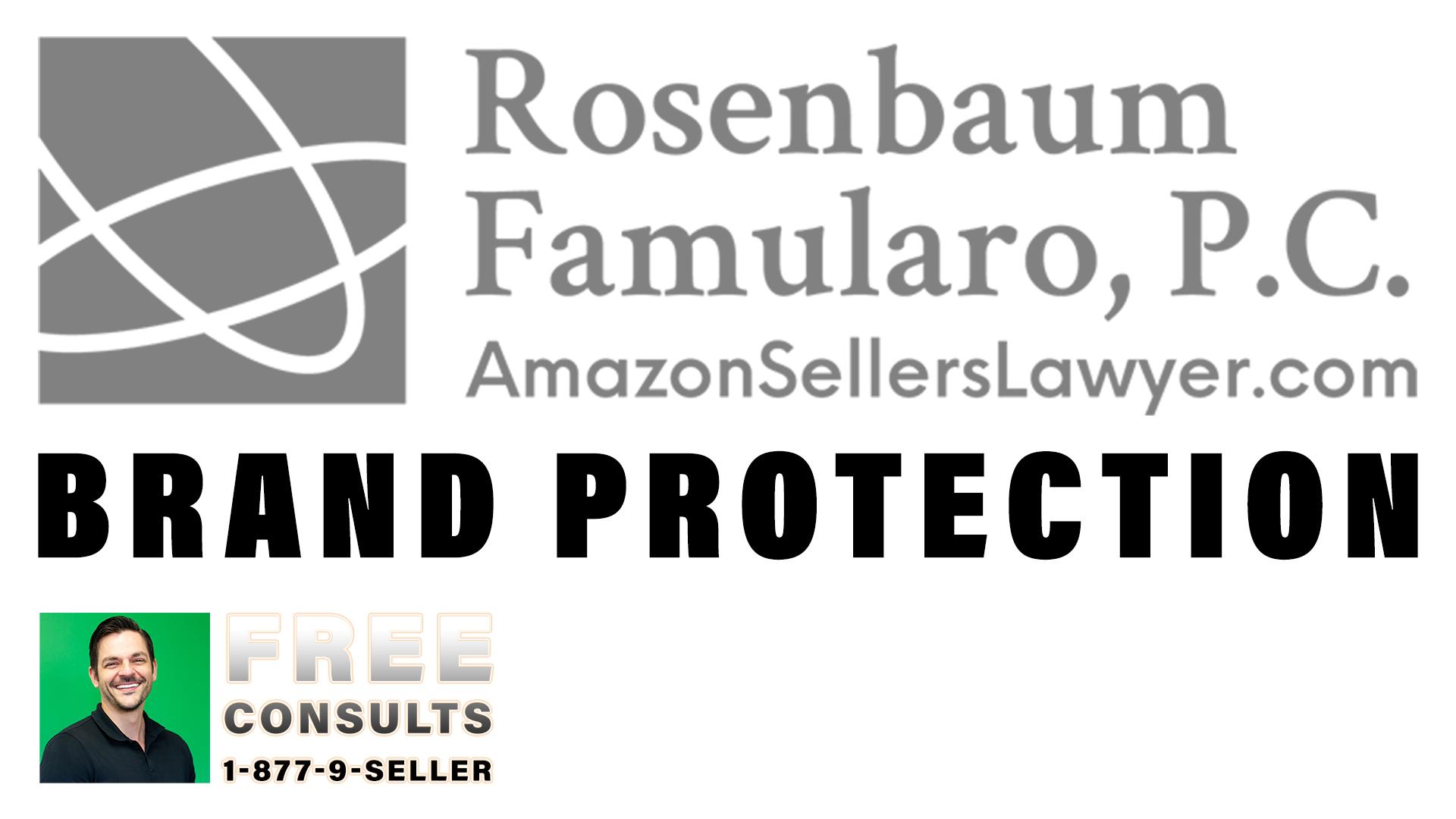 brand protection on Amazon