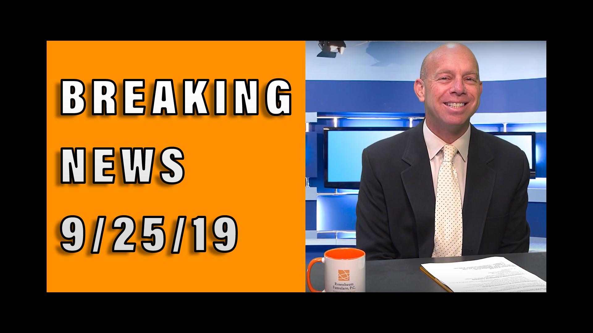 Amazon Sellers' Breaking News 9/25/19