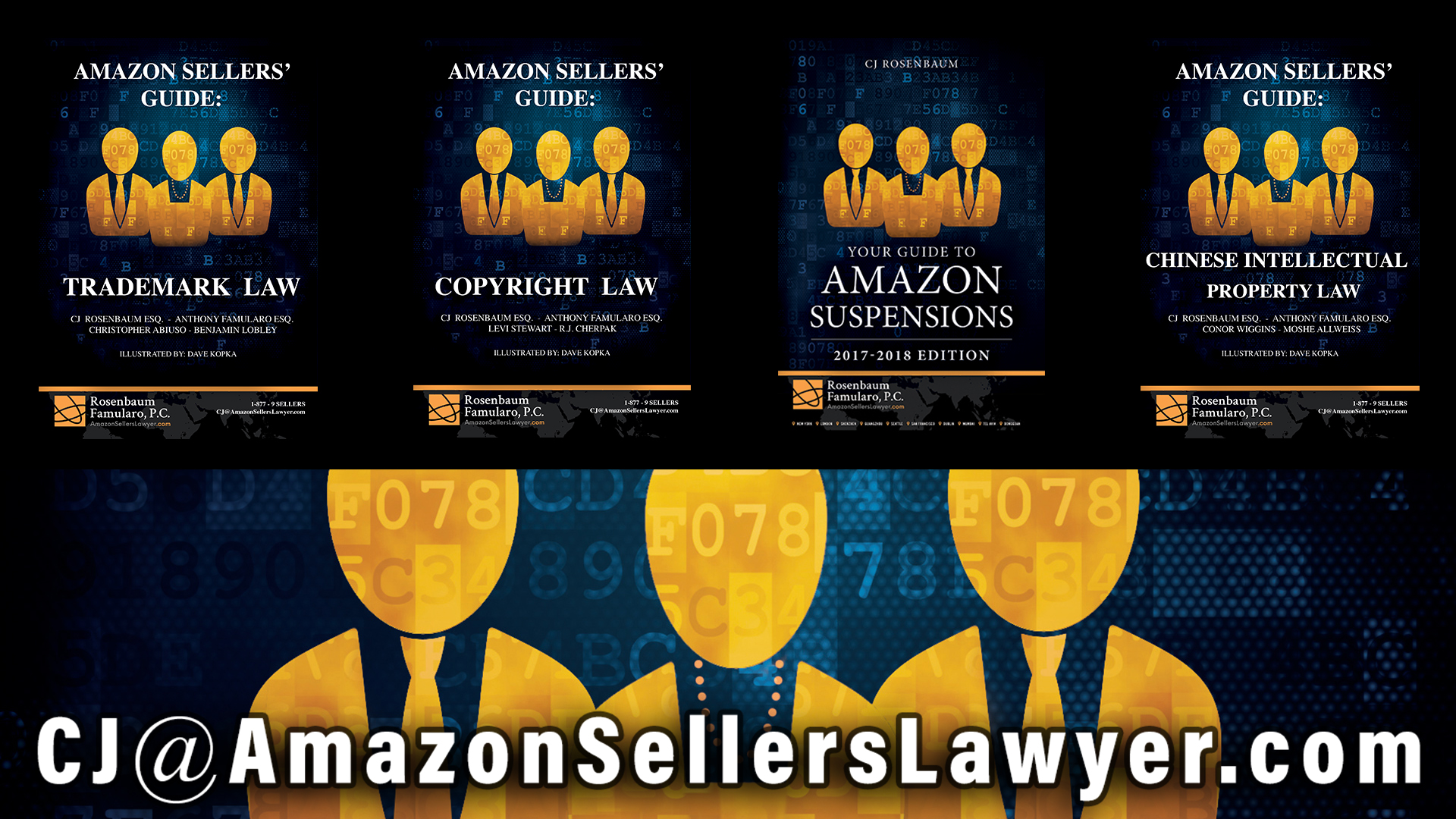 Amazon Sellers' Lawyer Books - Writing Plans of Action