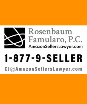 Amazon Sellers' Lawyer CJ Rosenbaum