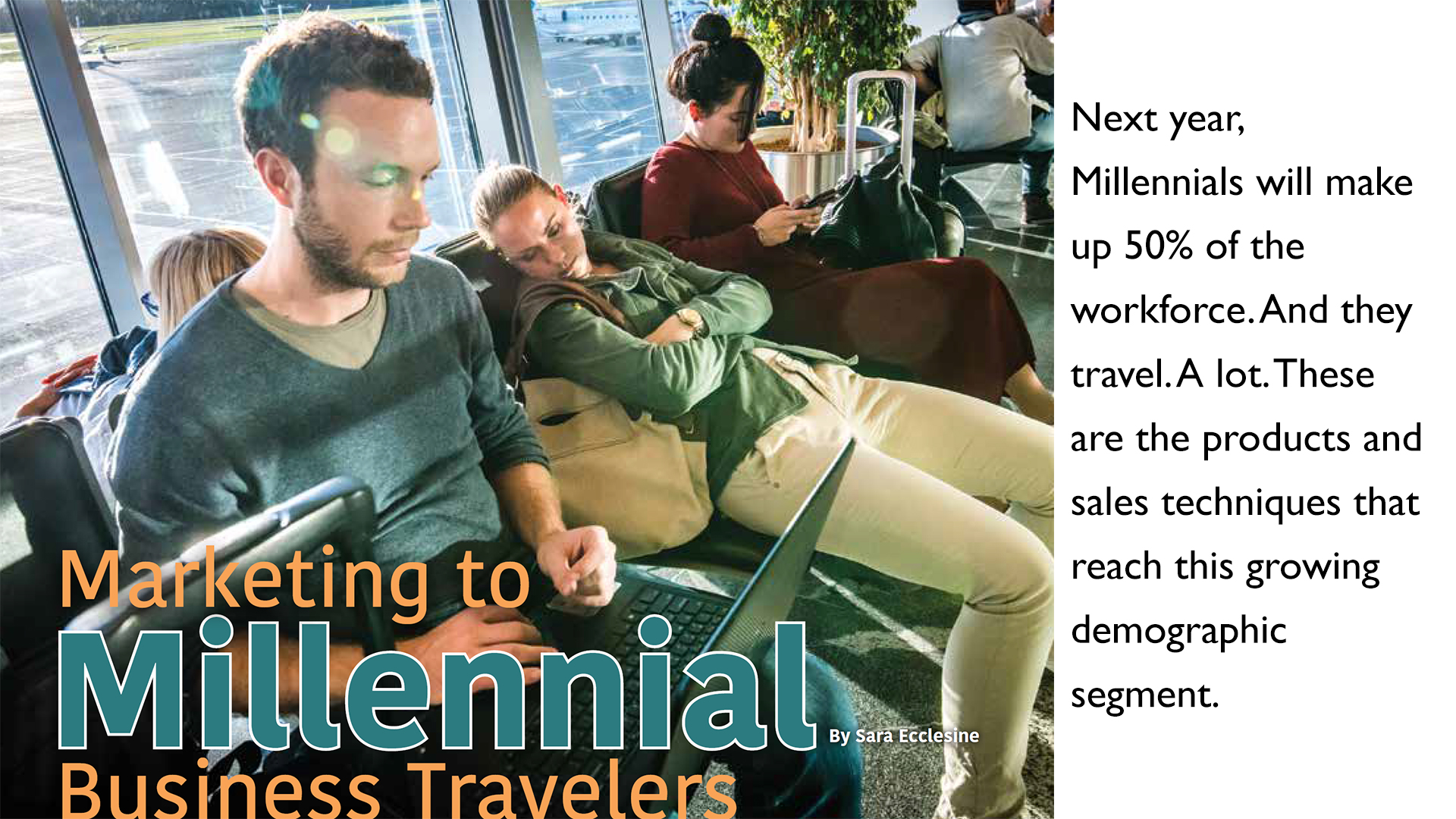 Millennials will make up 50% of the workforce in 2020