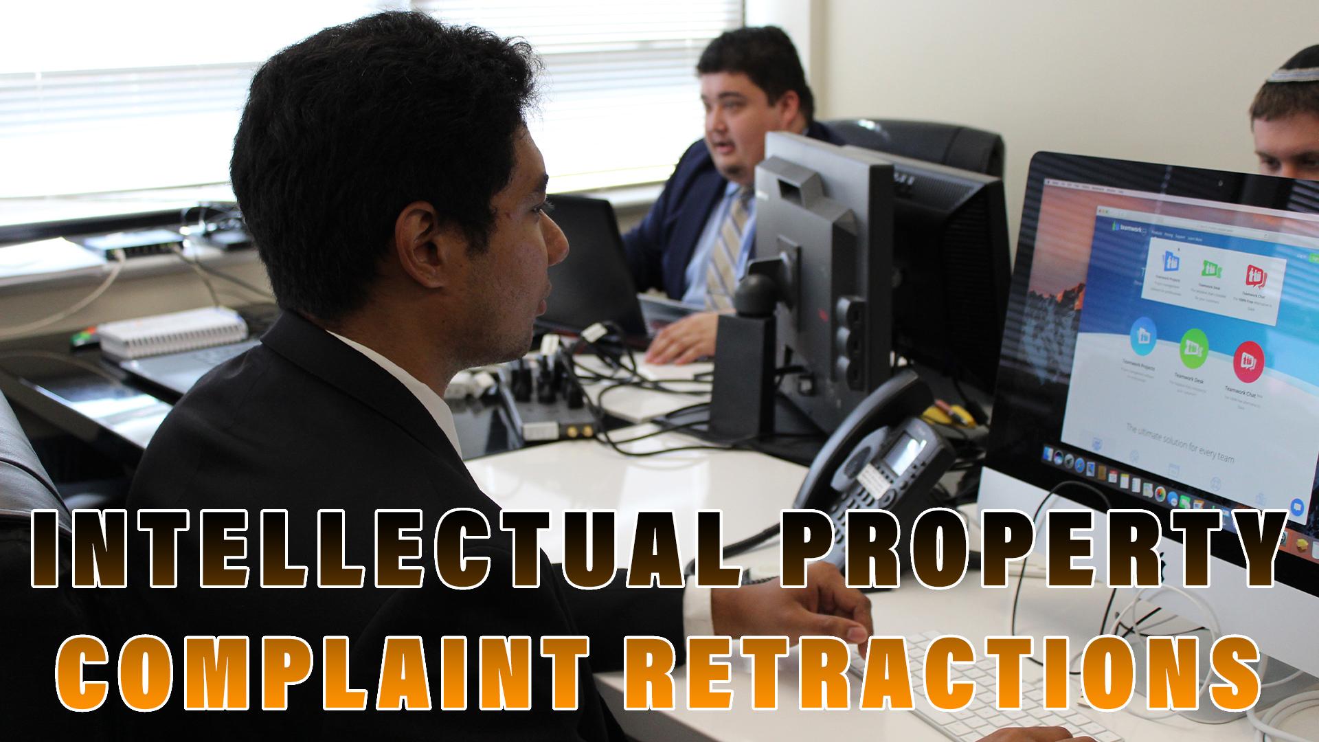 resolving IP complaints on Amazon