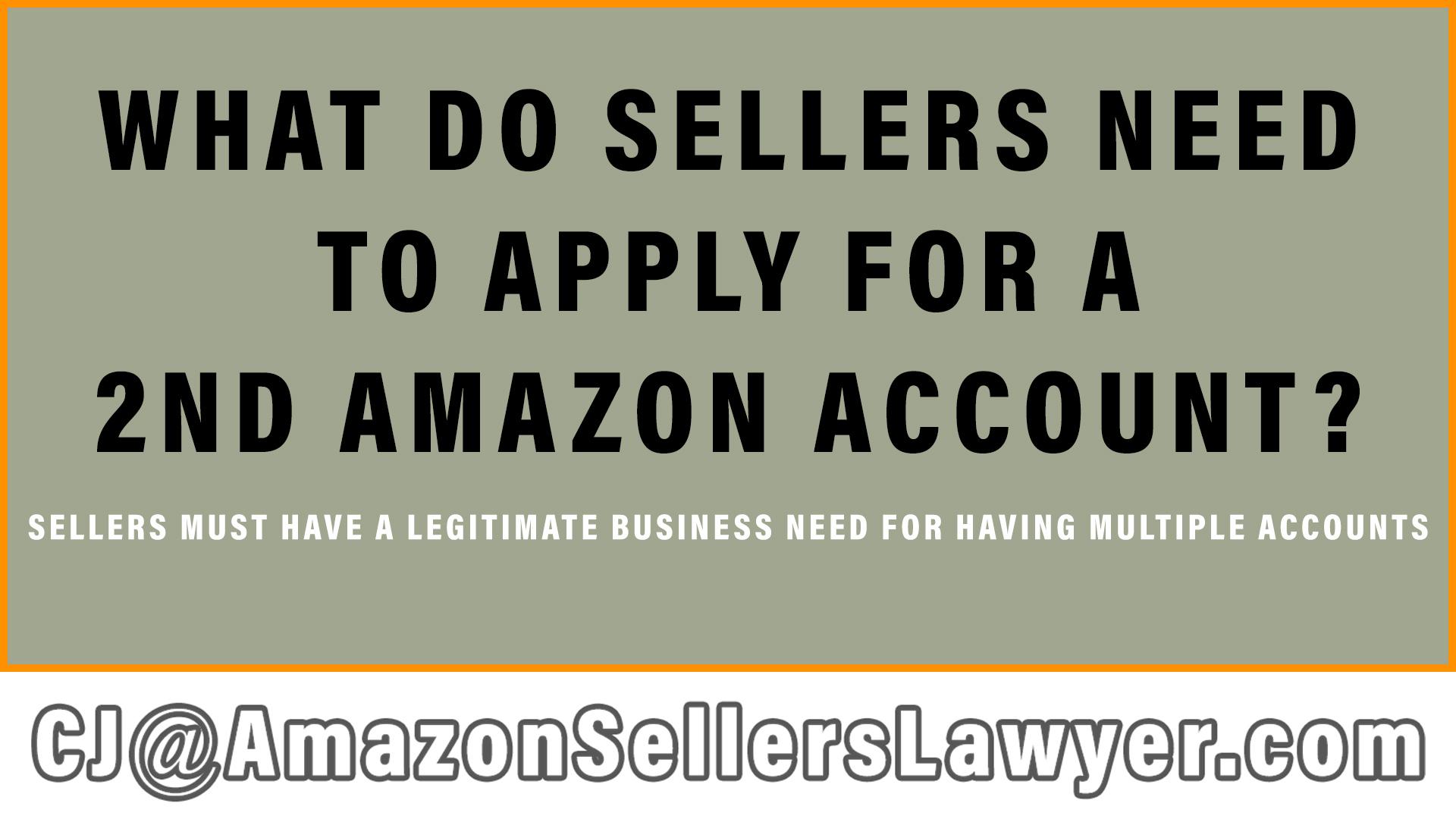 second Amazon account