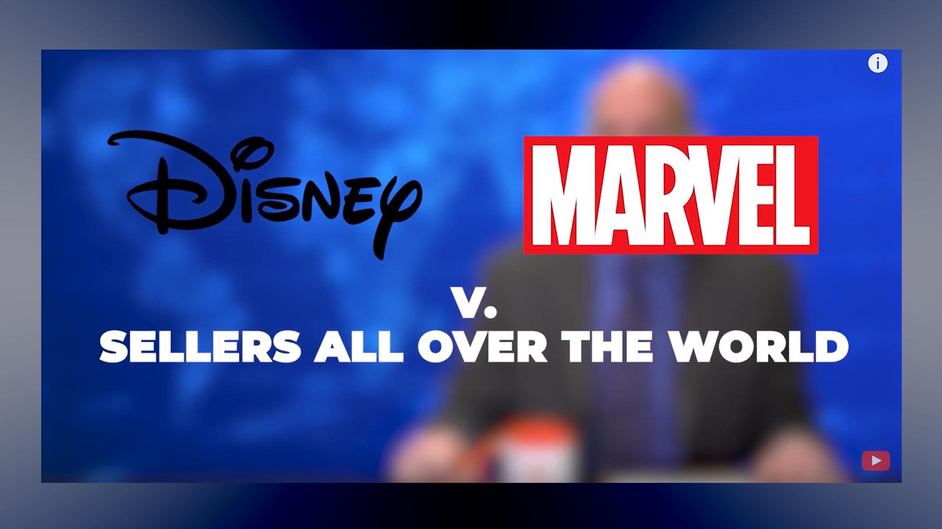 Amazon Seller Private Label Brand Development Exploding & Disney-Marvel v Sellers