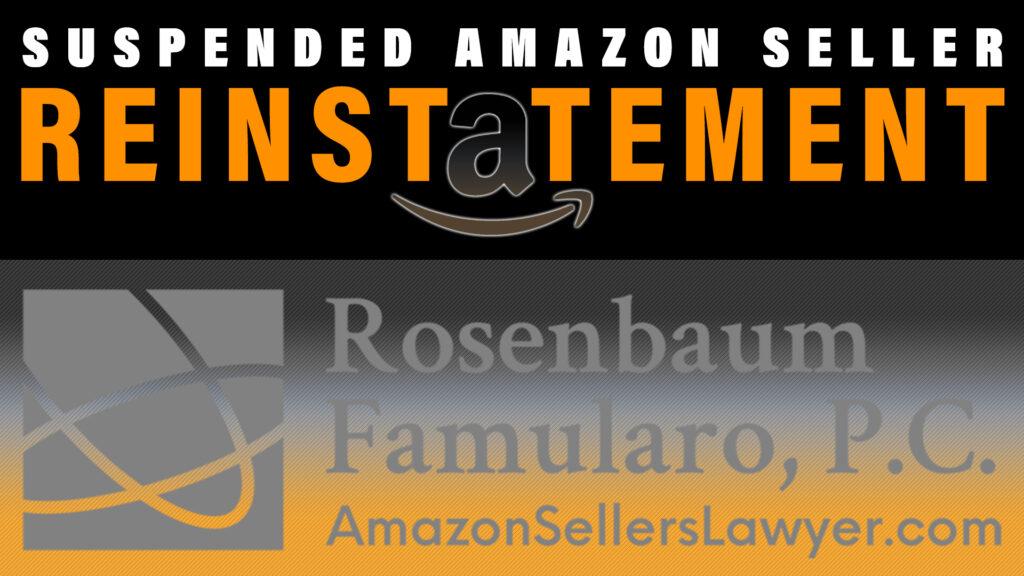 suspended Amz EU seller reinstatement
