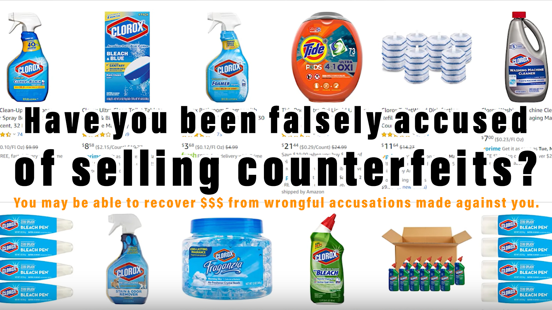 Clorox Attacking Sellers To Protect Sales