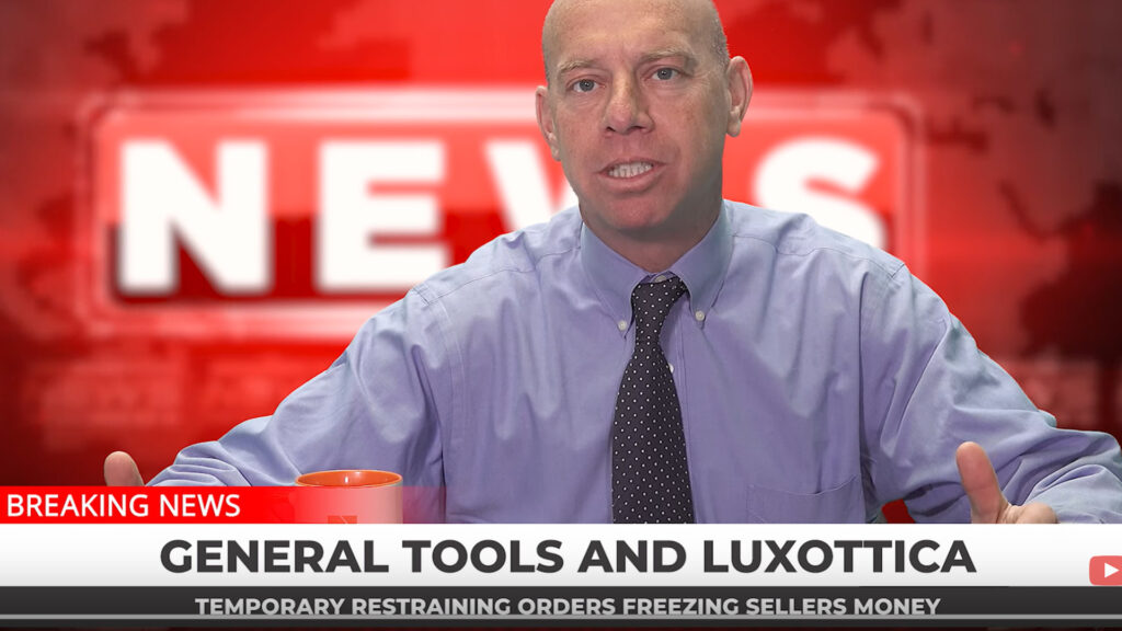 General Tools & Luxottica suing Amazon sellers left & right.