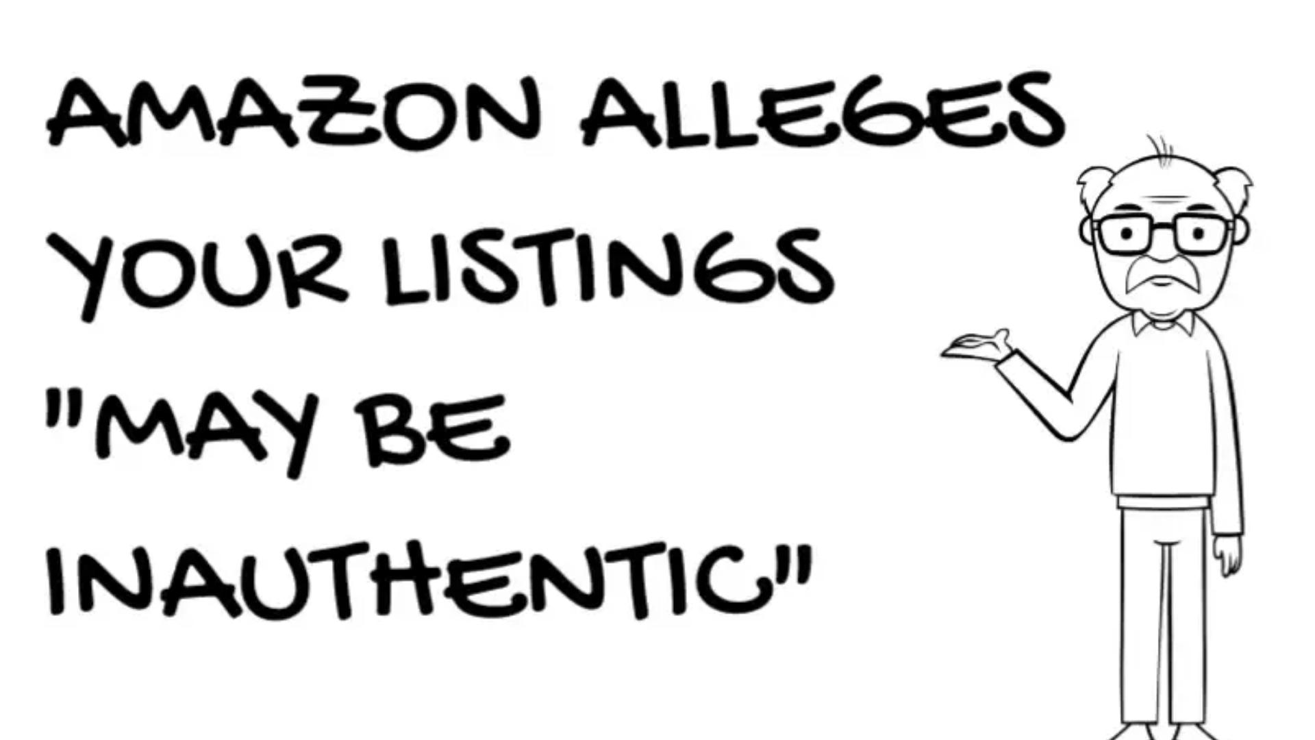 Inauthentic Suspensions on Amazon