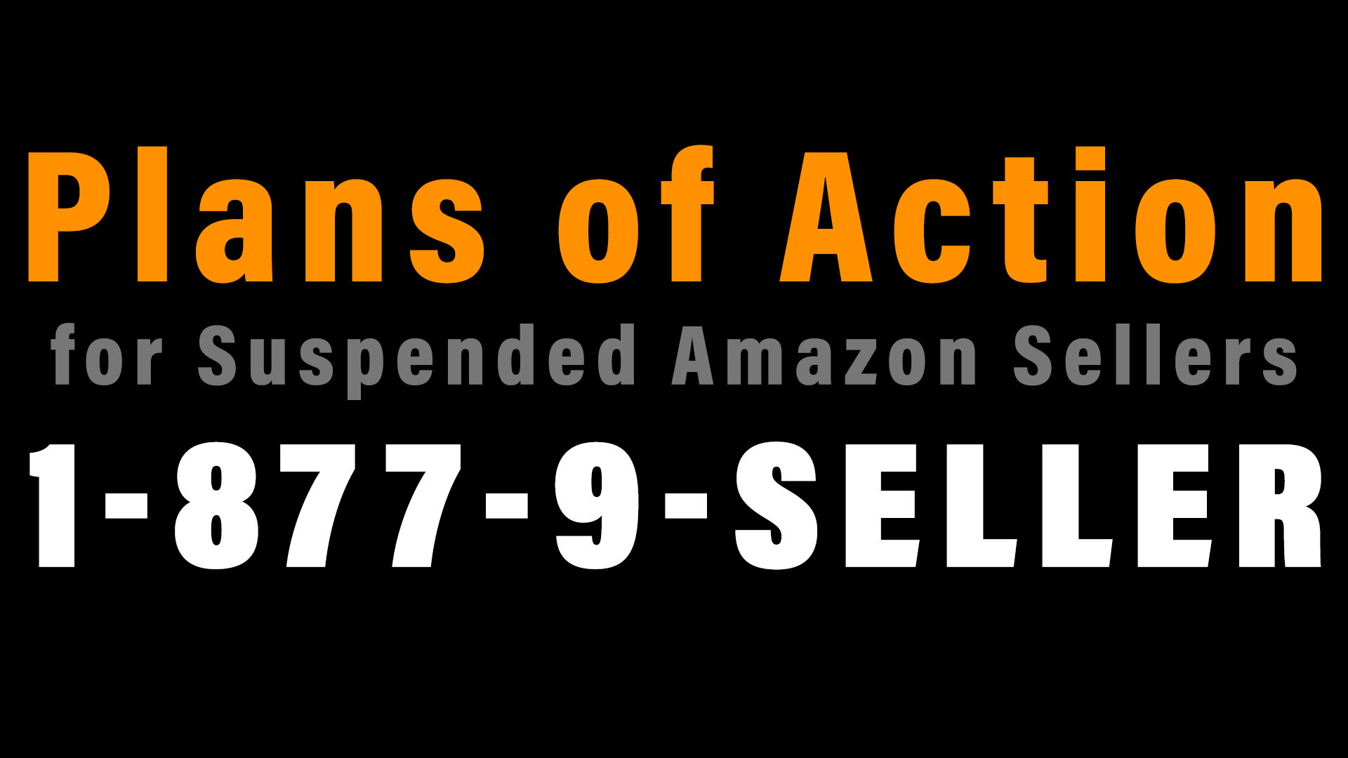 Plans of Action for Amazon