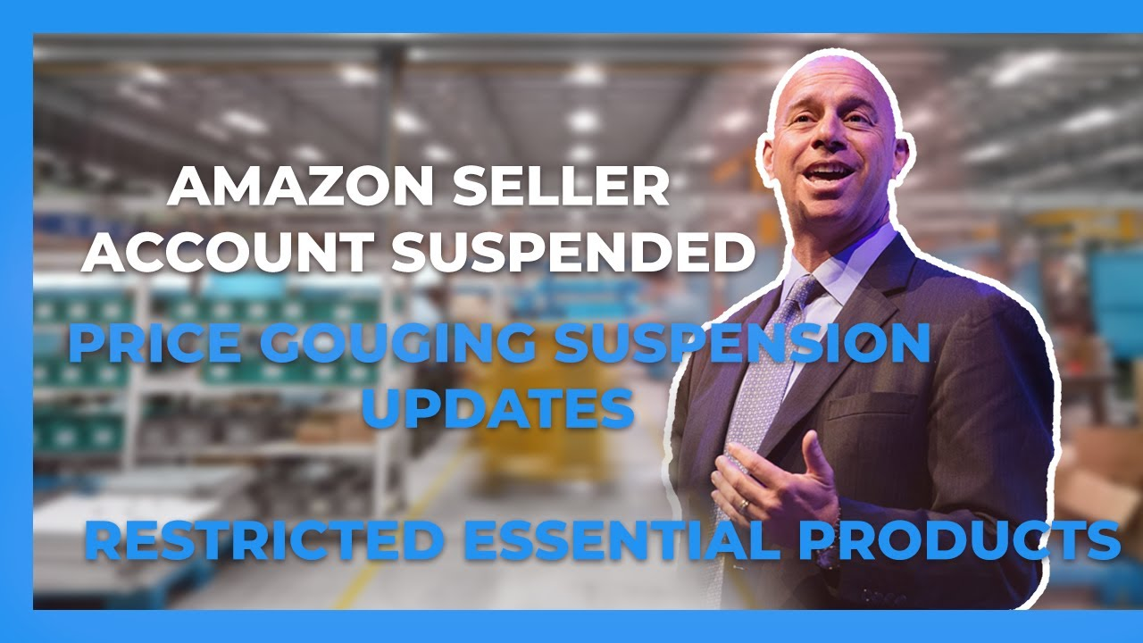 Amazon sellers' accounts suspended, restricted essential products, and an absolutely ridiculous new glitch in Amazon.