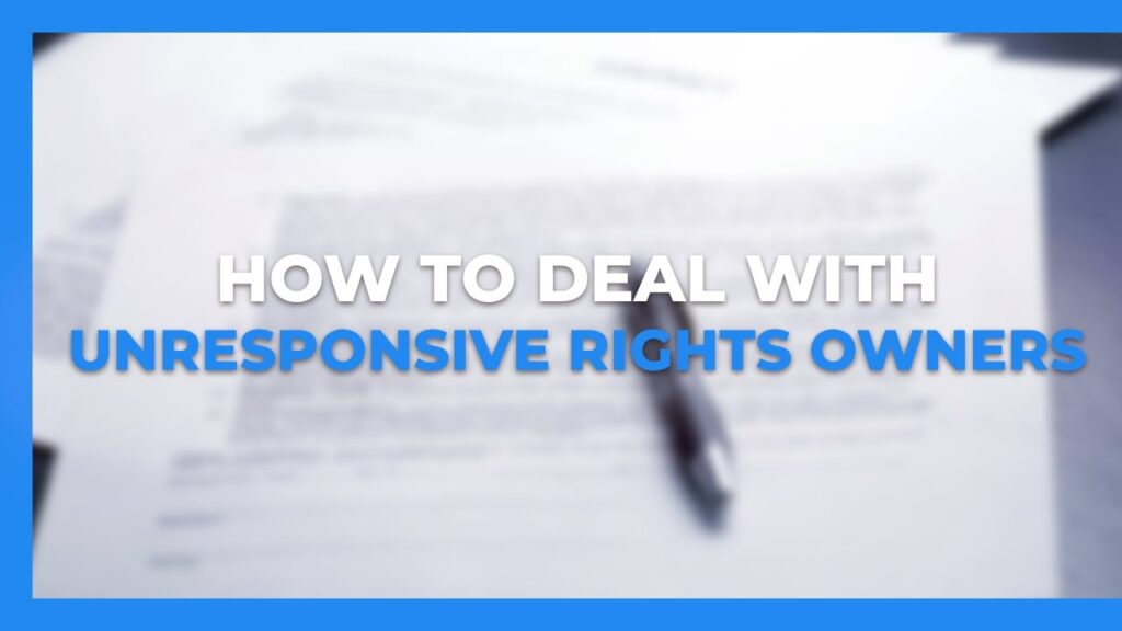 How to Deal with Unresponsive Rights Owners on Amazon