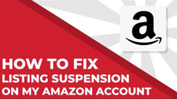 listing suspended on Amazon