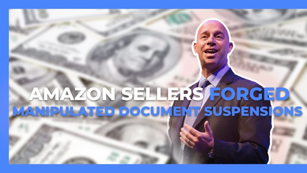 Forged / Manipulated Document Suspensions on Amazon