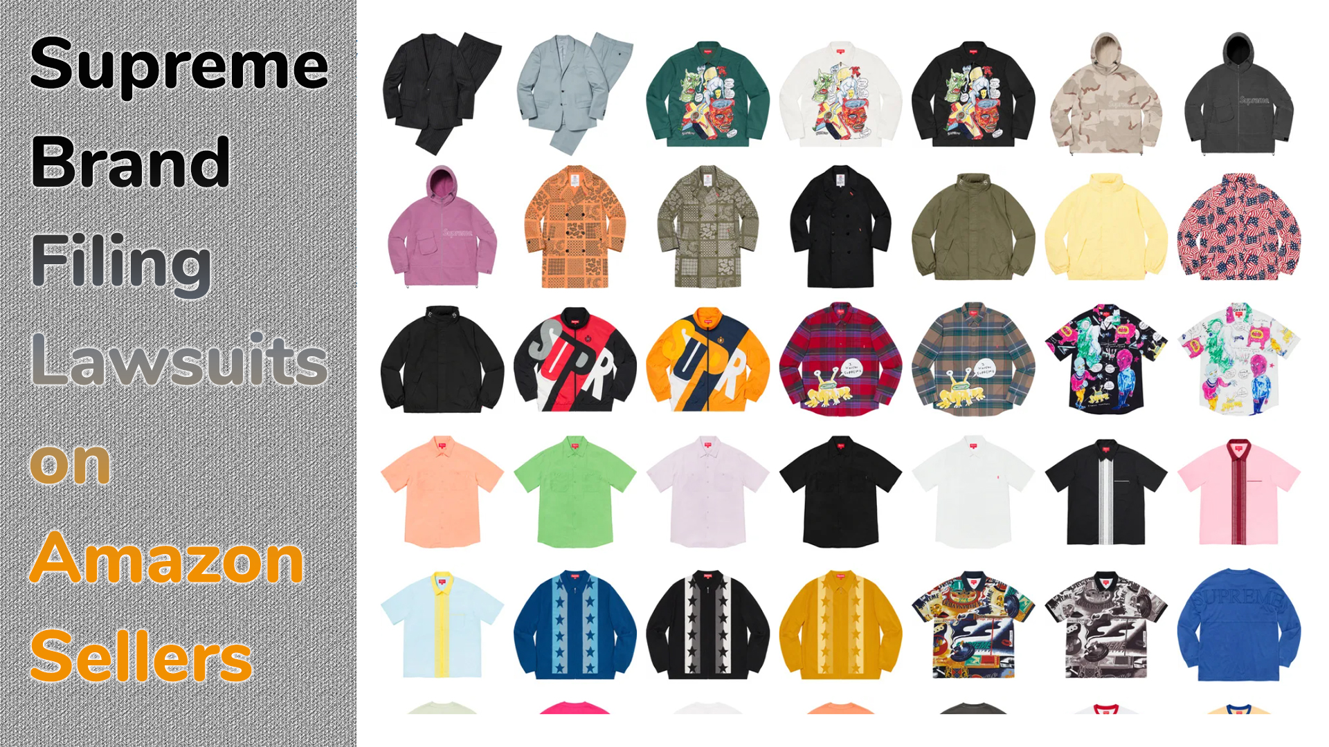 Supreme Brand Filing Lawsuits on Amazon Sellers for Selling Counterfeit Products