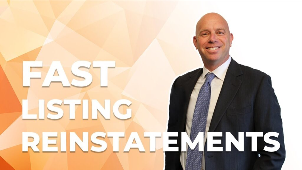 Instantaneous suspended listing reinstatement & Brands retracting IP complaints faster