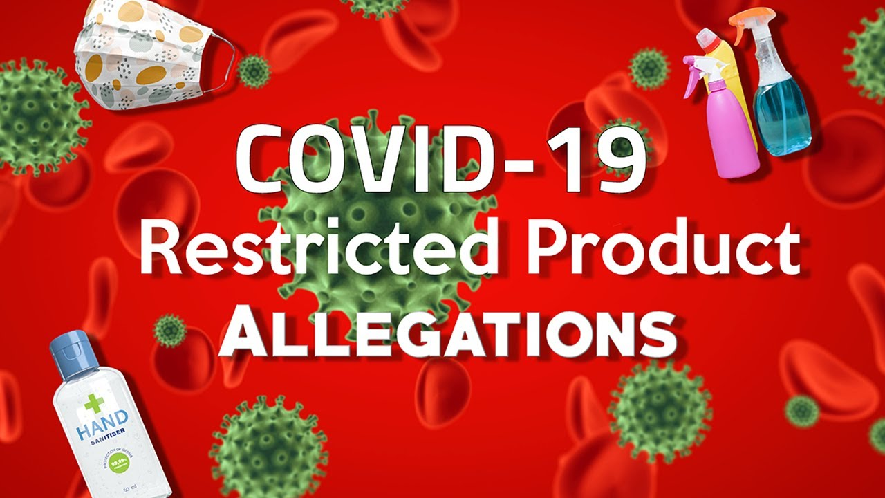 COVID-19 Restricted Product Allegations on Amazon