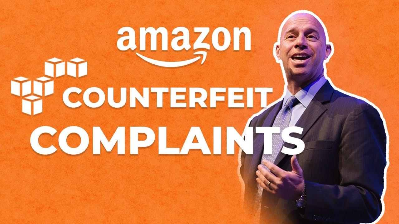 Counterfeit Complaints on Amazon Platform