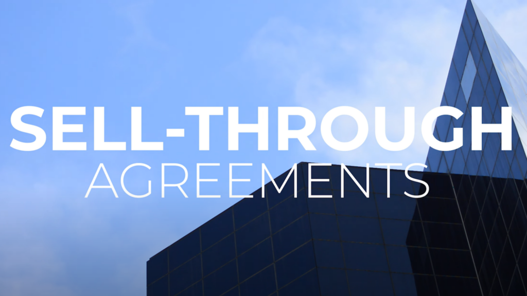 sell through agreements
