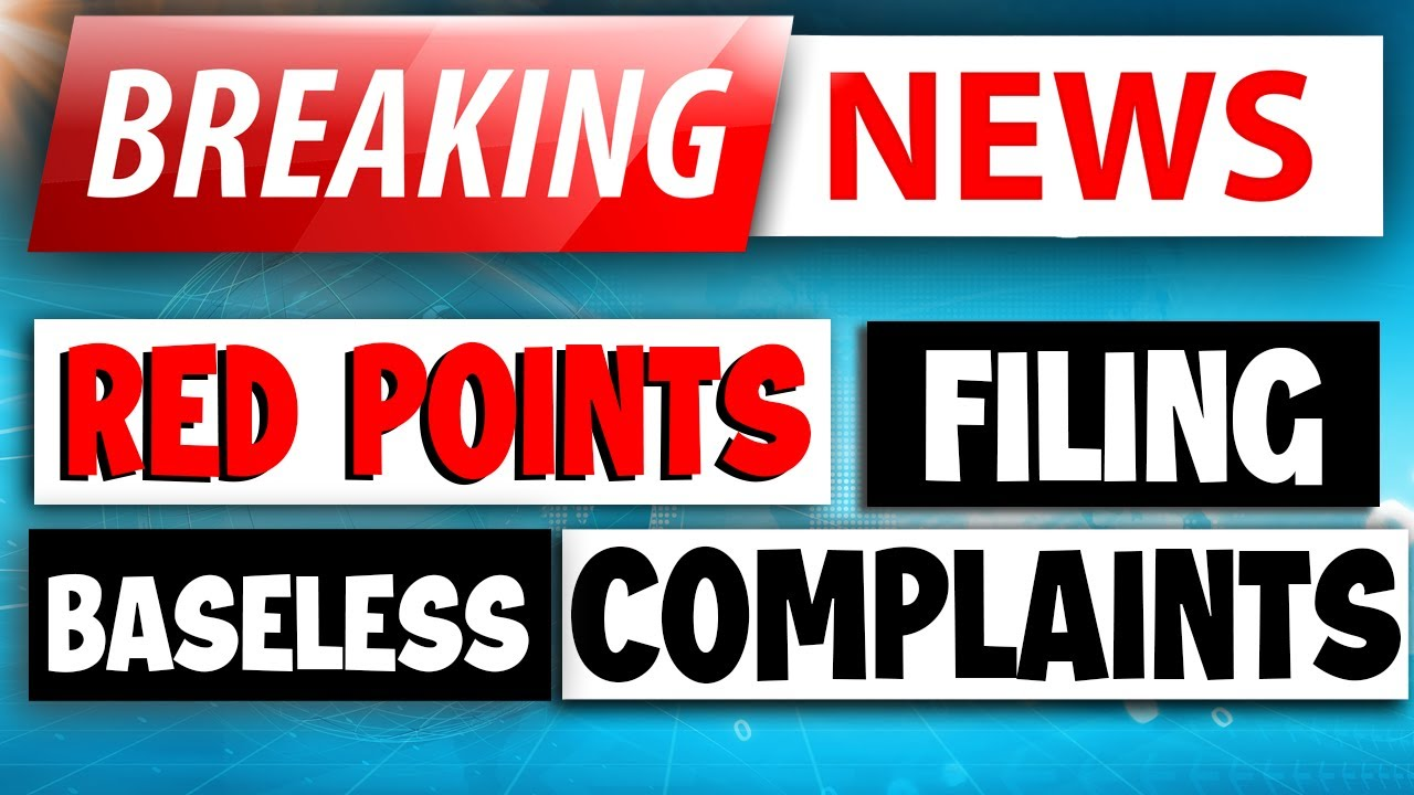 AMAZON BREAKING NEWS: Red Points Filing False Counterfeit & IP Complaints Against AMZ Sellers