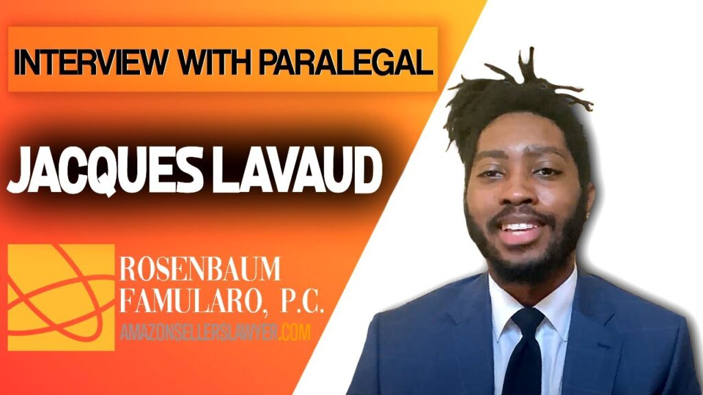 Meet the Amazon Sellers Lawyer Team - Litigation Paralegal, Jacques Lavaud