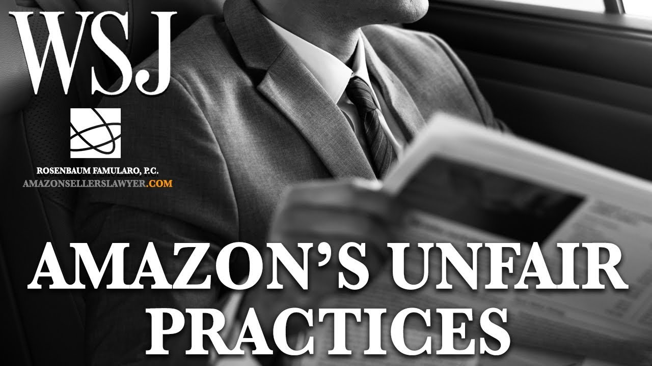 How Amazon Steals Sellers' Info to Gain Competitive Advantage & Control (Wall Street Journal)