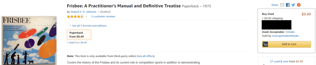 Frisbee: A practitioner's manual and definitive treatise