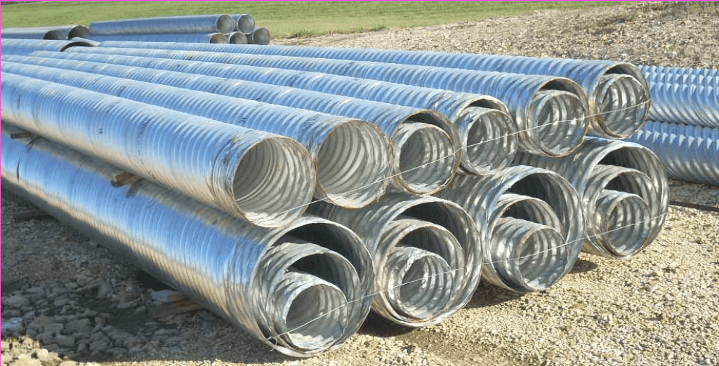 corrugated steel pipe manufacturing Oklahoma