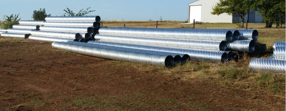 Galvanized, steel drainage pipes, ventilation pipes