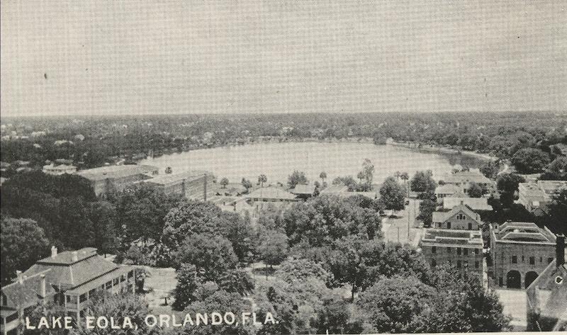 Lake Eola Park   Orlando Land Trust