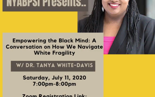 Empowering the Black Mind: A Conversation on How We Navigate White Fragility