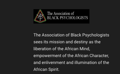 THE ASSOCIATION OF BLACK PSYCHOLOGISTS, INC. STATEMENT ON THE INSURRECTION