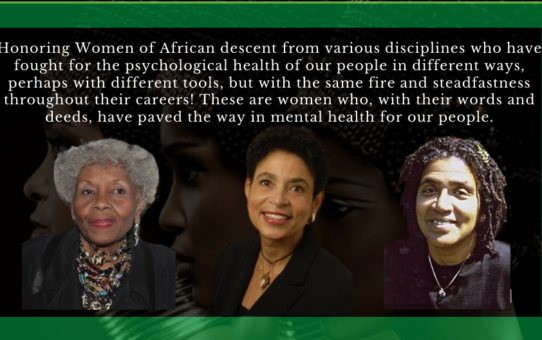 Celebrating Women's History Month by Honoring Women of African Descent
