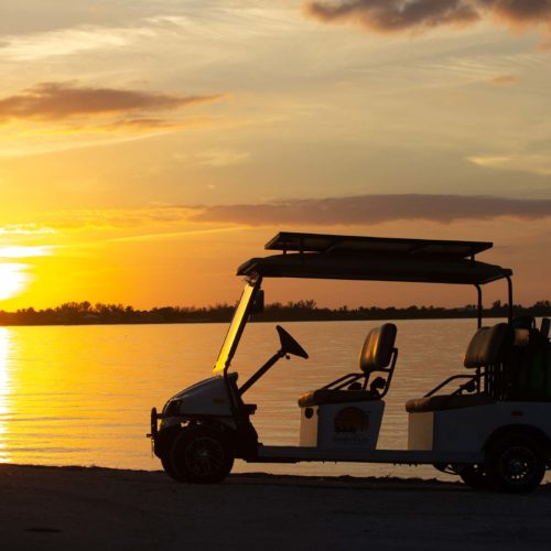 Sanibel Carts 4 Seater Sunset