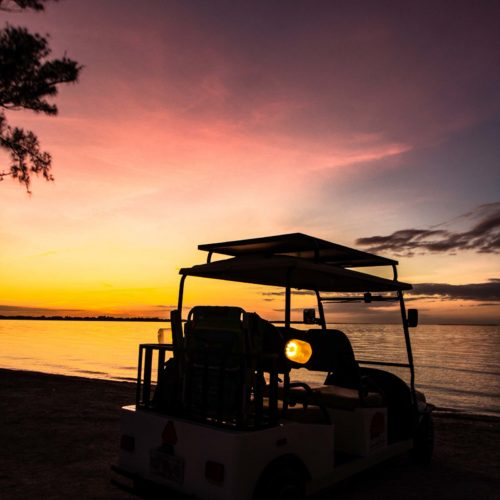 Sanibel Carts 4-Seater Sunset