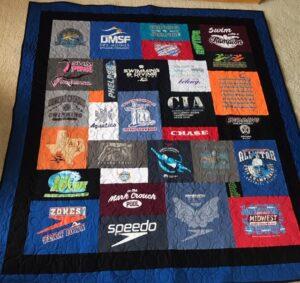 Graduation T-shirt quilt
