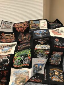 Harley T-shirt quilt