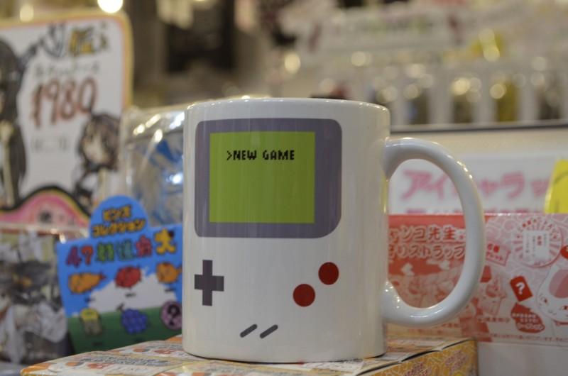 Gameboy mug cup