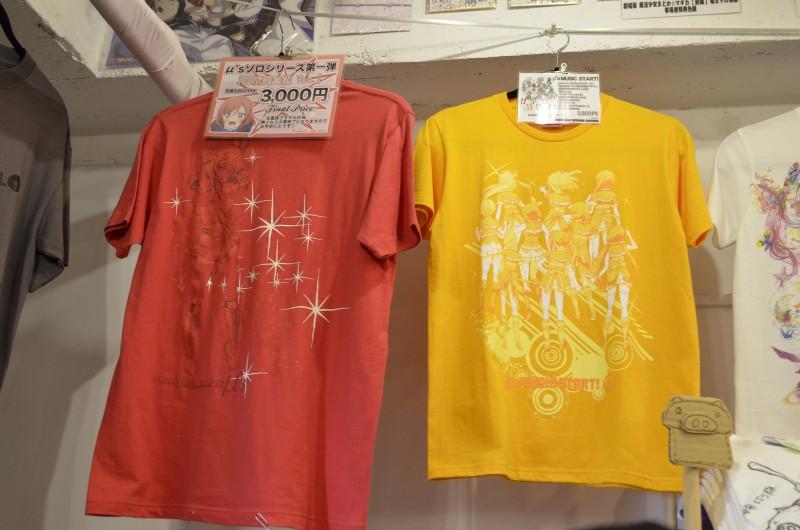Love Live μ's t-shirt