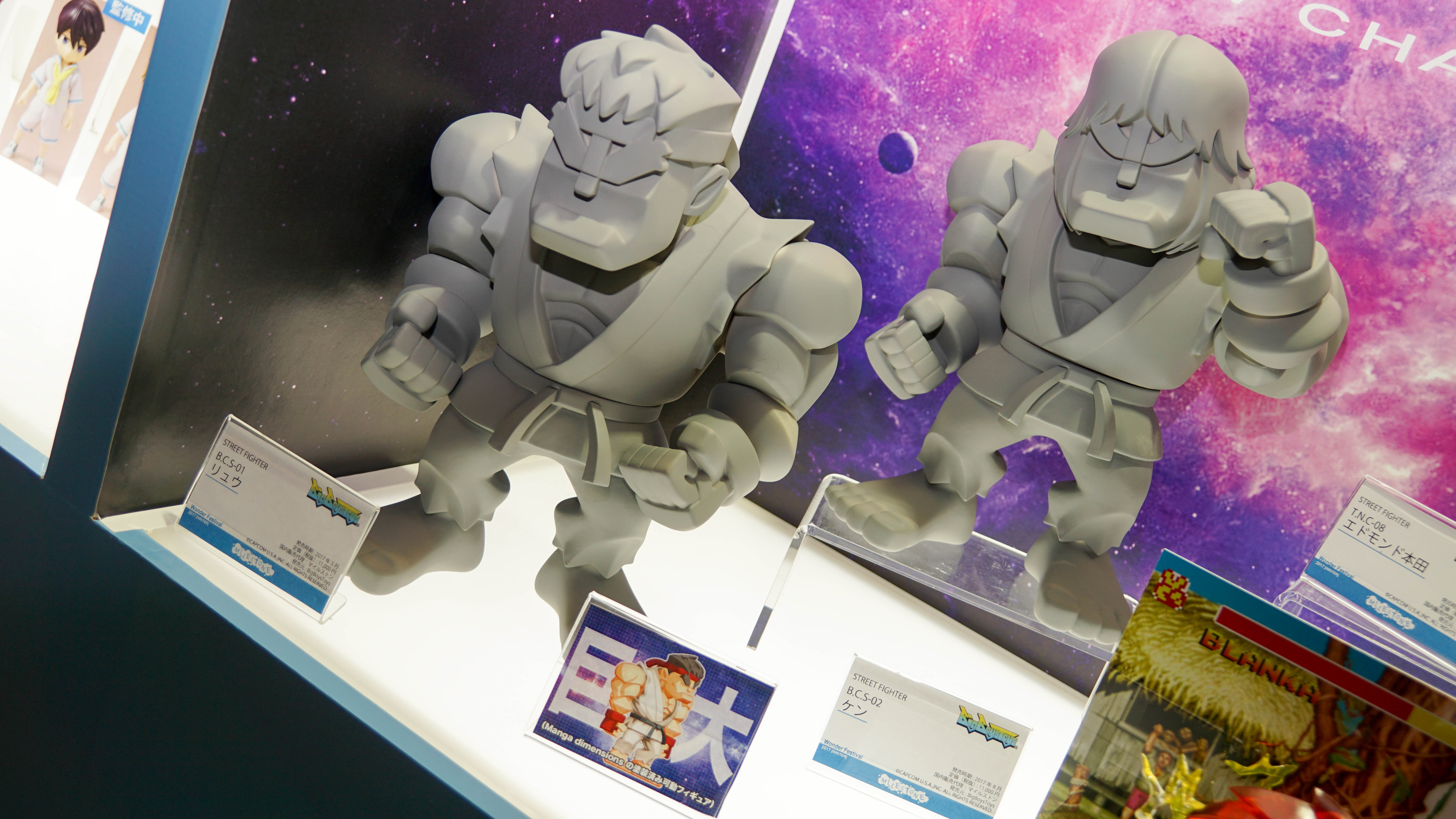 giant Ryu and Ken - Street Fighter - BigBoysToys