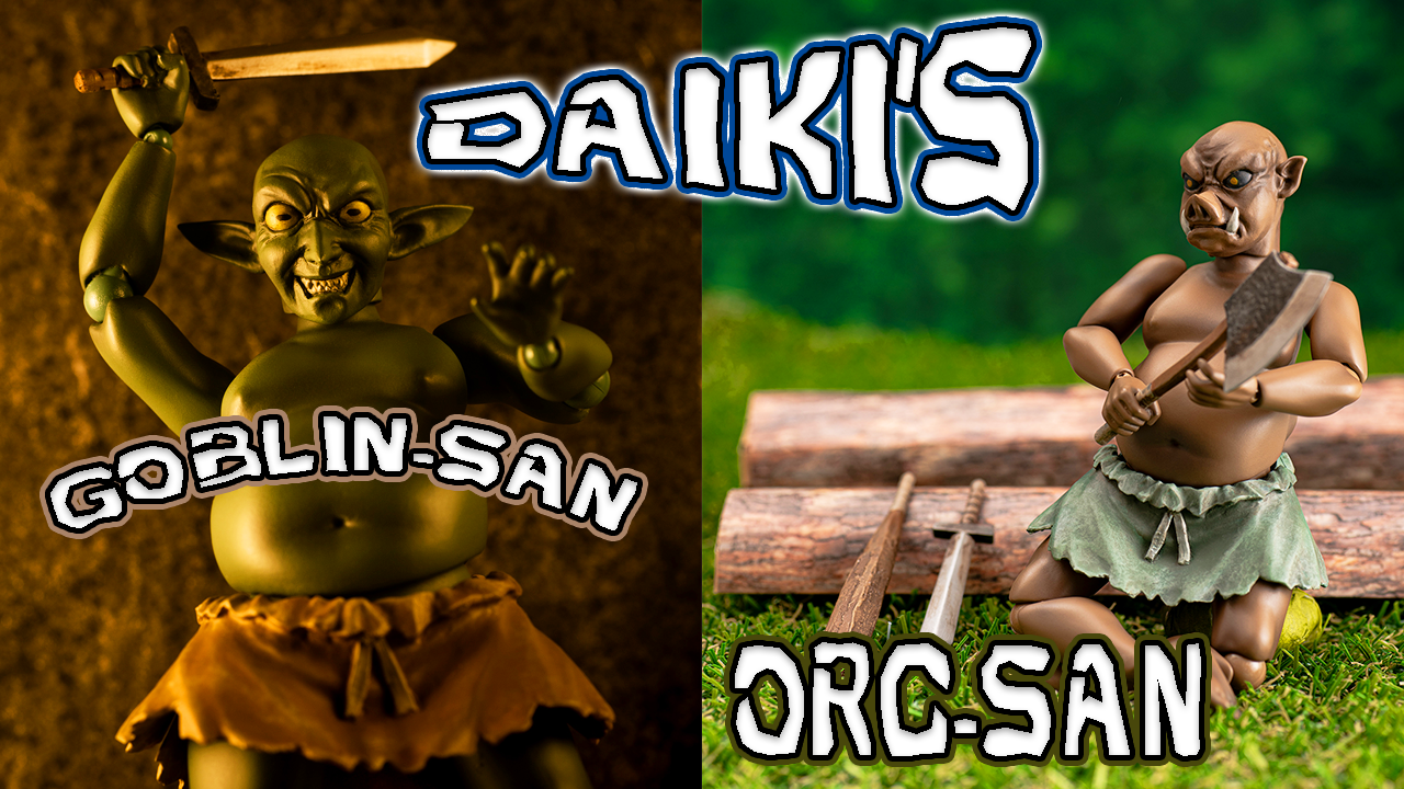 Daiki's Goblin San and Orc San Thumbnail