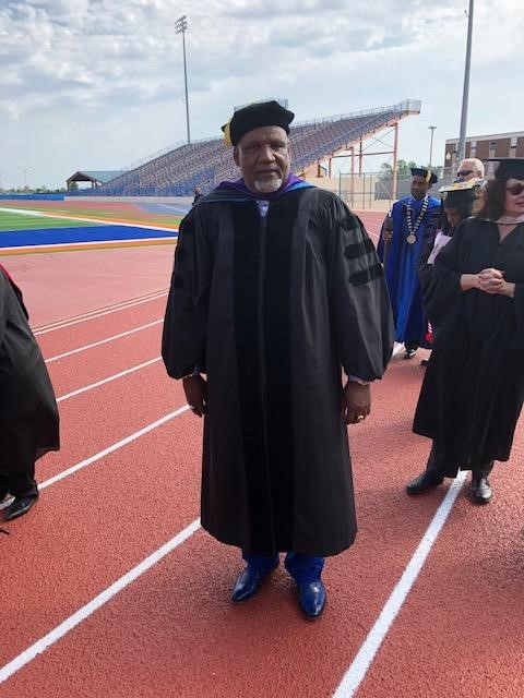 Dr. Thomas Henderson - Honorary Doctorate from Langston University