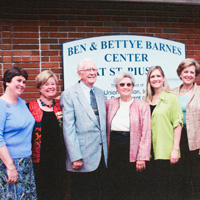 Ben and Bettye Barnes Center Opens